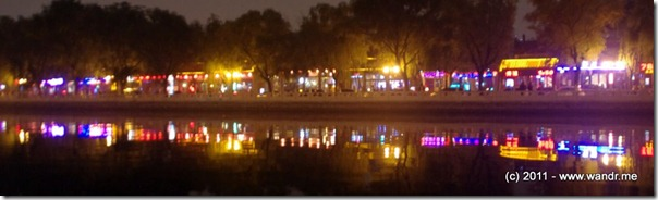 Hipster heaven at Beijing's HouHai Lake