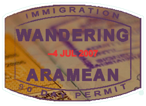 Wandering Aramean Travel Tools
